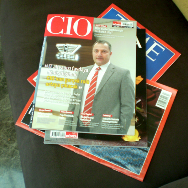 A Turkish CIO Magazine